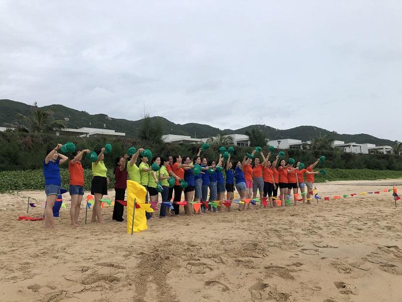 Company Trip Nhiệt Điện Bà Rịa tổ chức tại Long Hải.