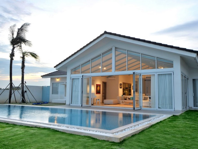 Biệt Thự Trước Biển 04 Phòng Ngủ - Hồ Bơi Riêng (Beach Front Pool Villa 4 Bedrooms)