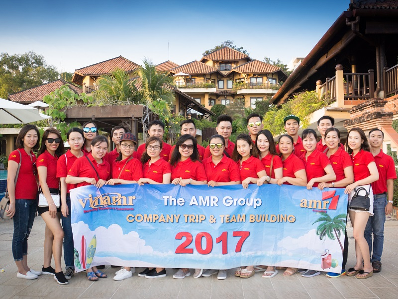 Company Trip công ty AMR tại Mũi Né