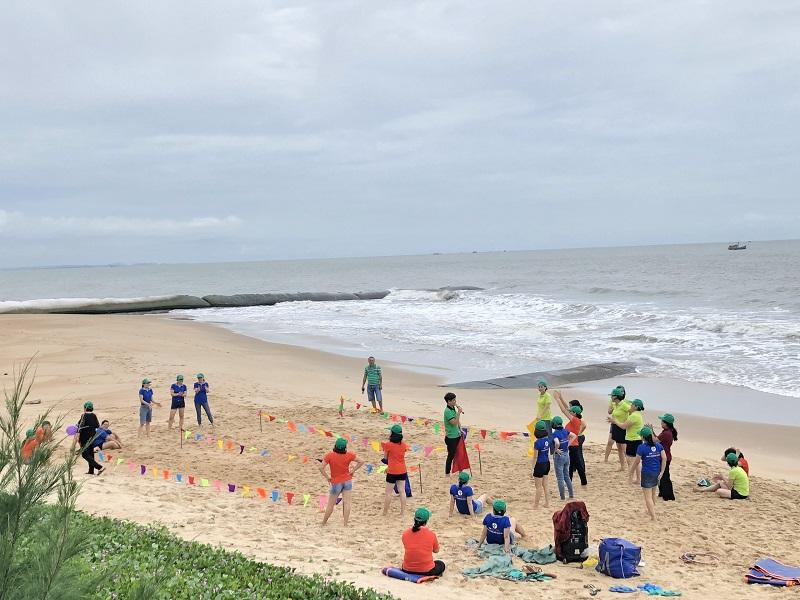 Team Building Nhiệt Điện Bà Rịa được tổ chức tại Oceanami – Long Hải